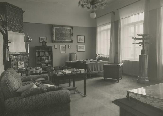 Gabinet służbowy, z kolekcji zdjęć wnętrz Generalnego Inspektoratu Sił Zbrojnych