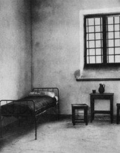 Józef Piłsudski - cela w cytadeli
