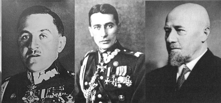 Pięć dedykacji Piłsudskiego