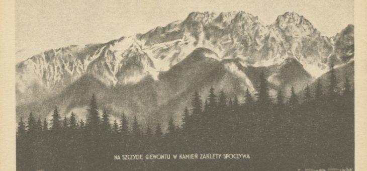 Piłsudski na tatrzańskich szlakach