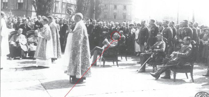 Piłsudski na własnym pogrzebie