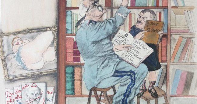 Józef Piłsudski w karykaturach Zdzisława Czermańskiego