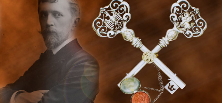 Piłsudski z kluczami Wilna