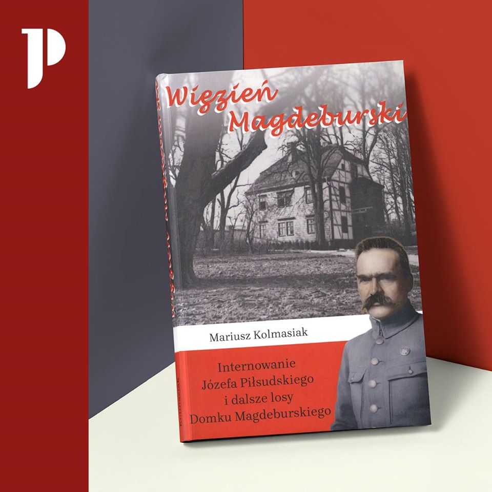 okładka książki Więzień Magdeburga