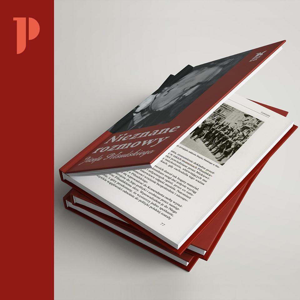 Okładka książki Nieznane rozmowy Józefa Piłsudskiego