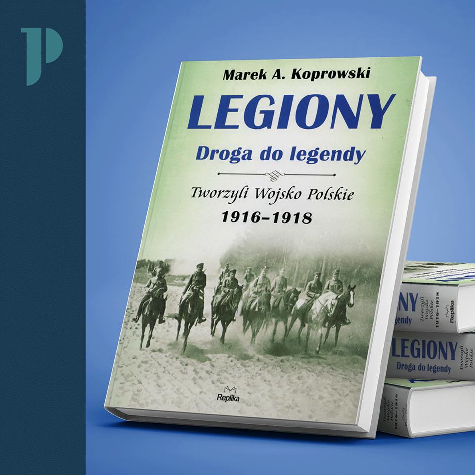 okładka książki Legiony. Droga do legendy