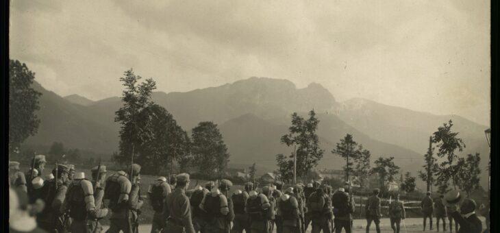Piłsudski i strzelcy pod Giewontem