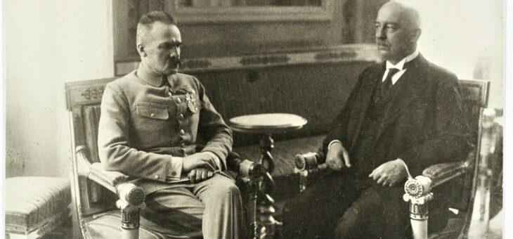 Piłsudski odradza Narutowiczowi kandydowanie na prezydenta