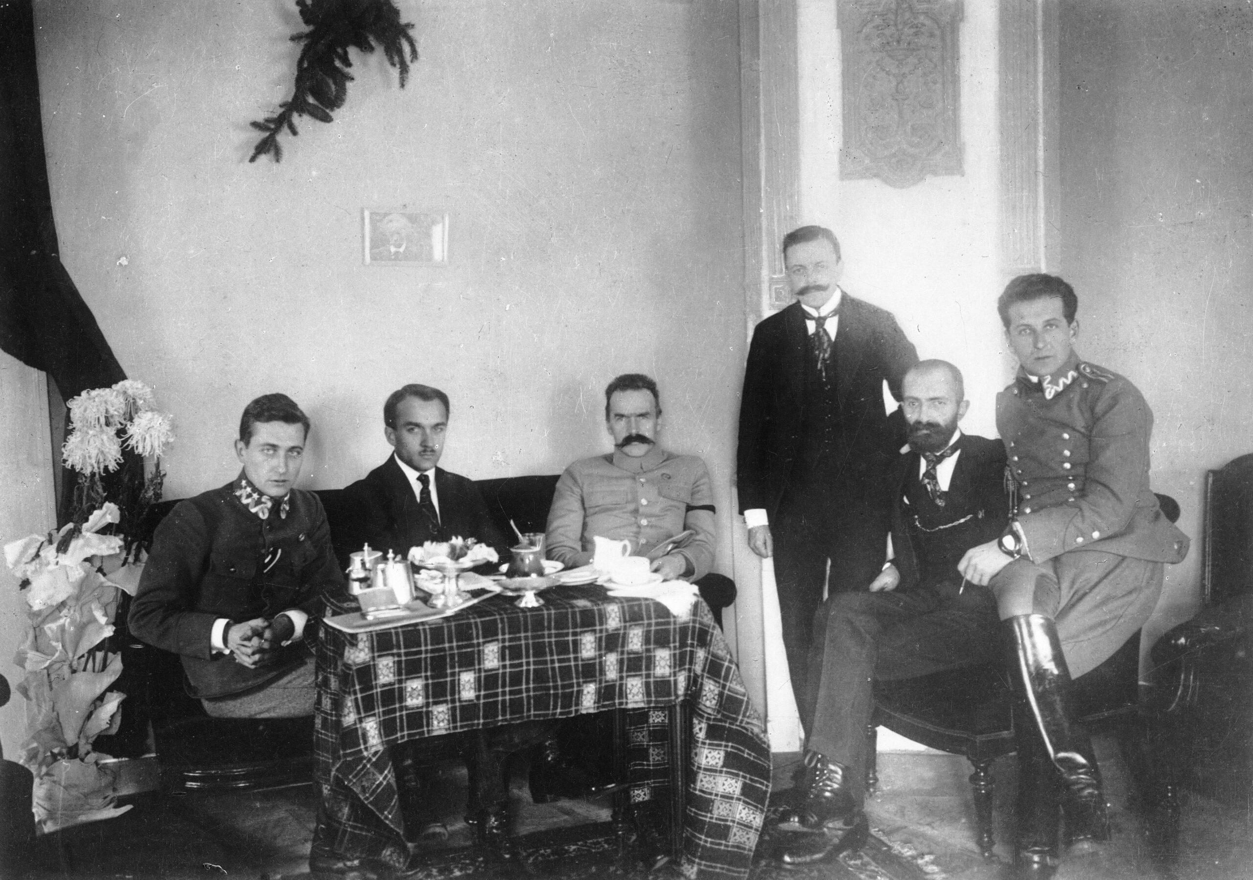 Piłsudski i współpracownicy