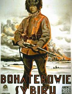 plakat filmu Bohaterowie Sybiru