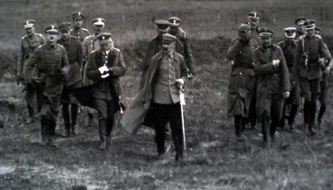 Józef Piłsudski w czasie bitwy warszawskiej