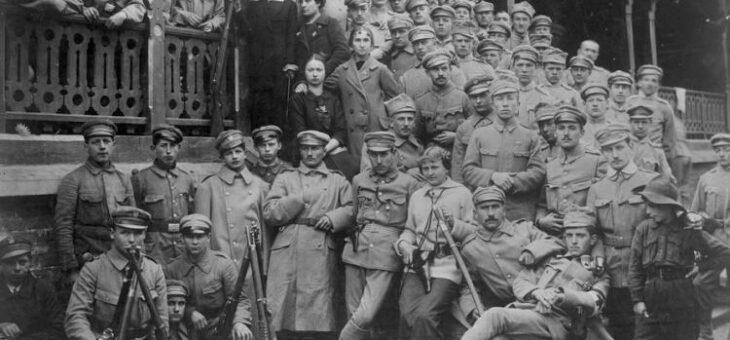 Wymarsz! Oleandry, 6 sierpnia 1914 roku