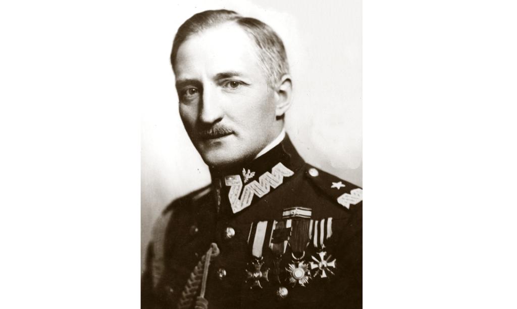 Józef Olszyna-Wilczyński - portret przed 1936 r., w mundurze