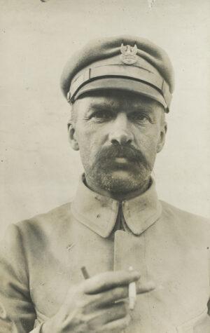 Józef Piłsudski na przełomie 1914 i 1915 r.