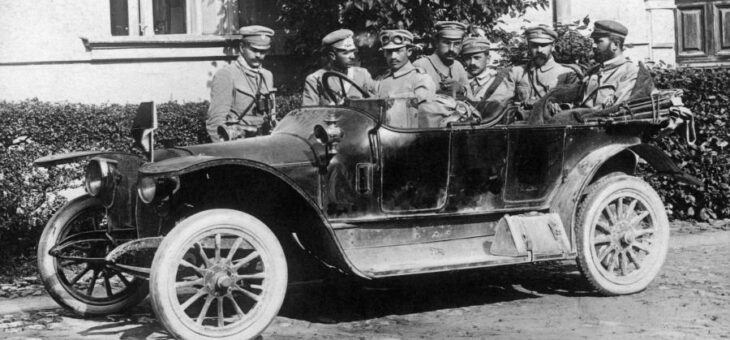 Michał Sokolnicki spotyka Józefa Piłsudskiego