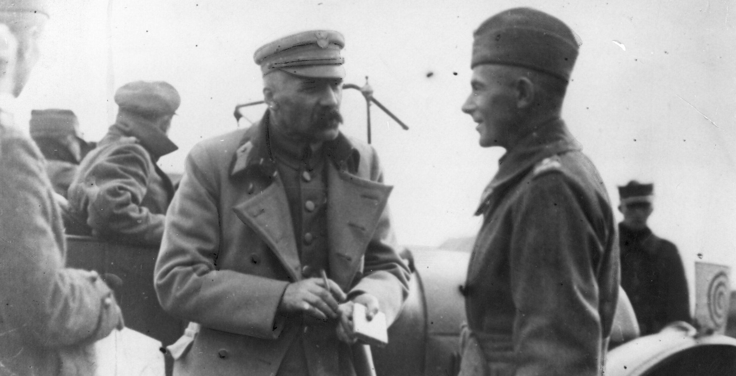 Józef Piłsudski i Edward Śmigły-Rydz