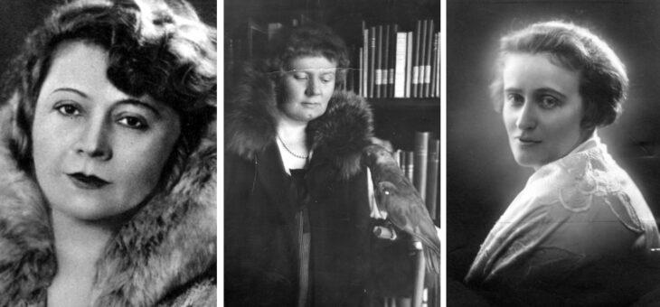 Aleksandra Piłsudska i kobiety na herbatkach w Belwederze