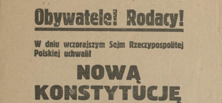 Prawa i obowiązki obywateli w konstytucji marcowej
