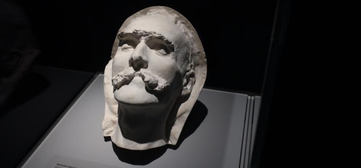 Maska pośmiertna Józefa Piłsudskiego